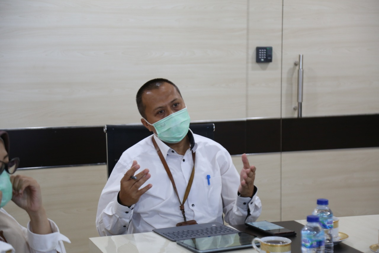 Koordinasi terkait Penyelenggaraan PKH dengan Bupati Batubara
