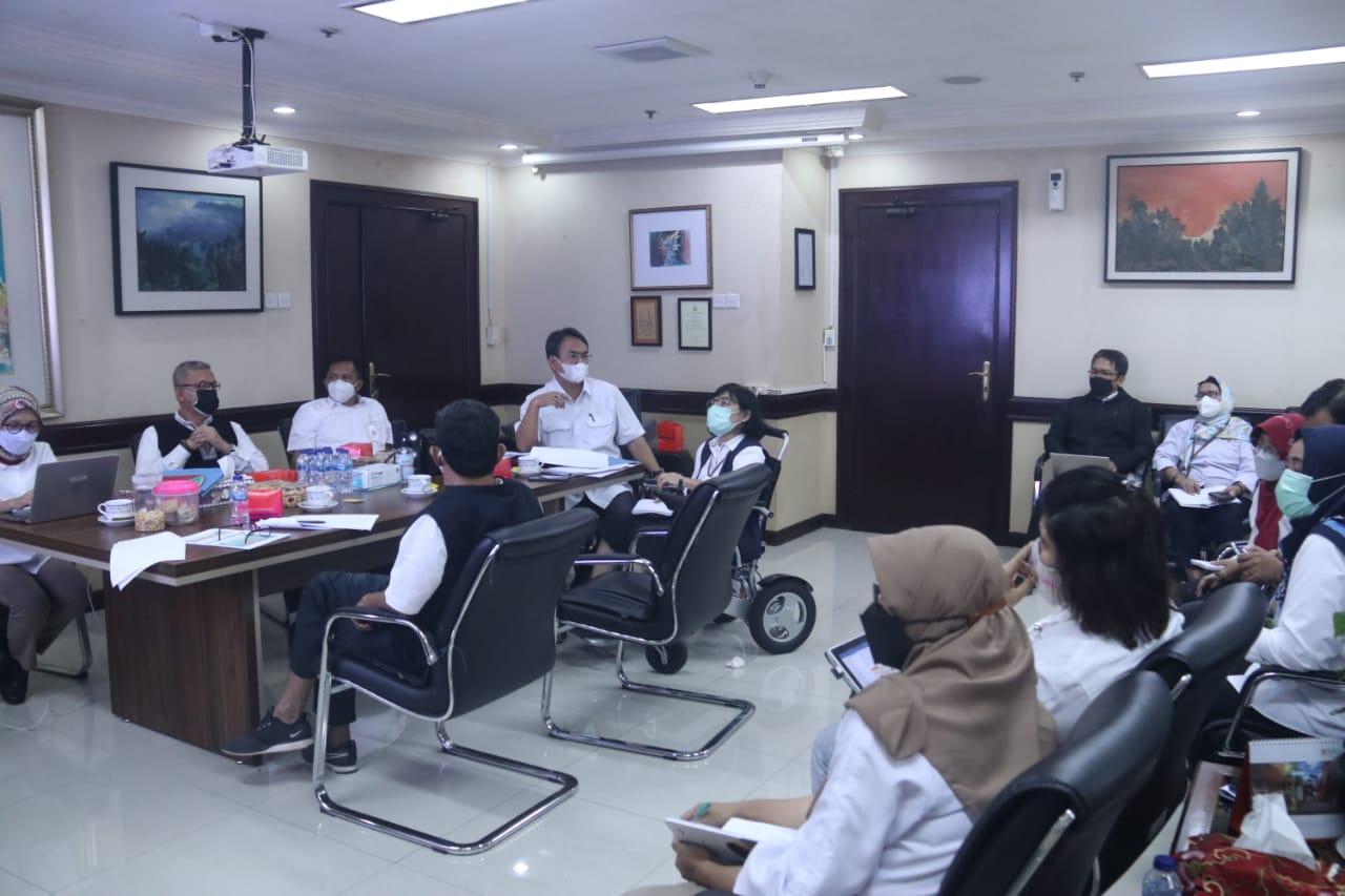 Rapat Pembahasan Perdirjen Rehsos tentang Pedoman Operasional ATENSI
