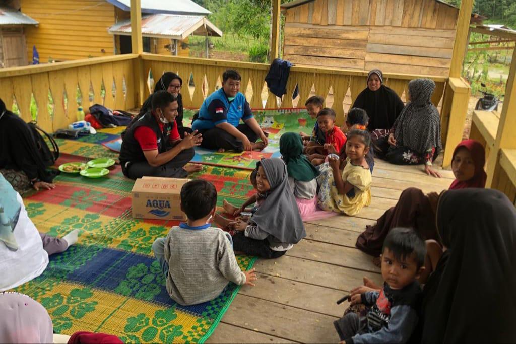 """Loka """"Darussa'adah"""" di Aceh Milik Kemensos lakukan Penjangkauan di KAT Sikundo"""