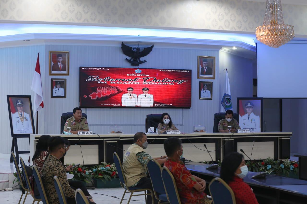Pembukaan Rangkaian Kegiatan Pelatihan KSB Kota Bitung
