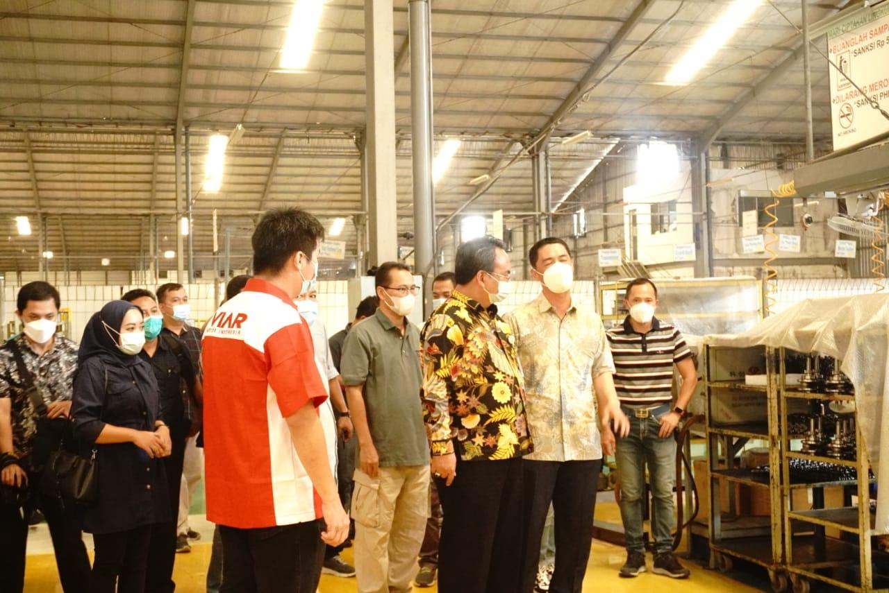 Dirjen Rehsos Kunjungi PT Triangle Motorindo Semarang