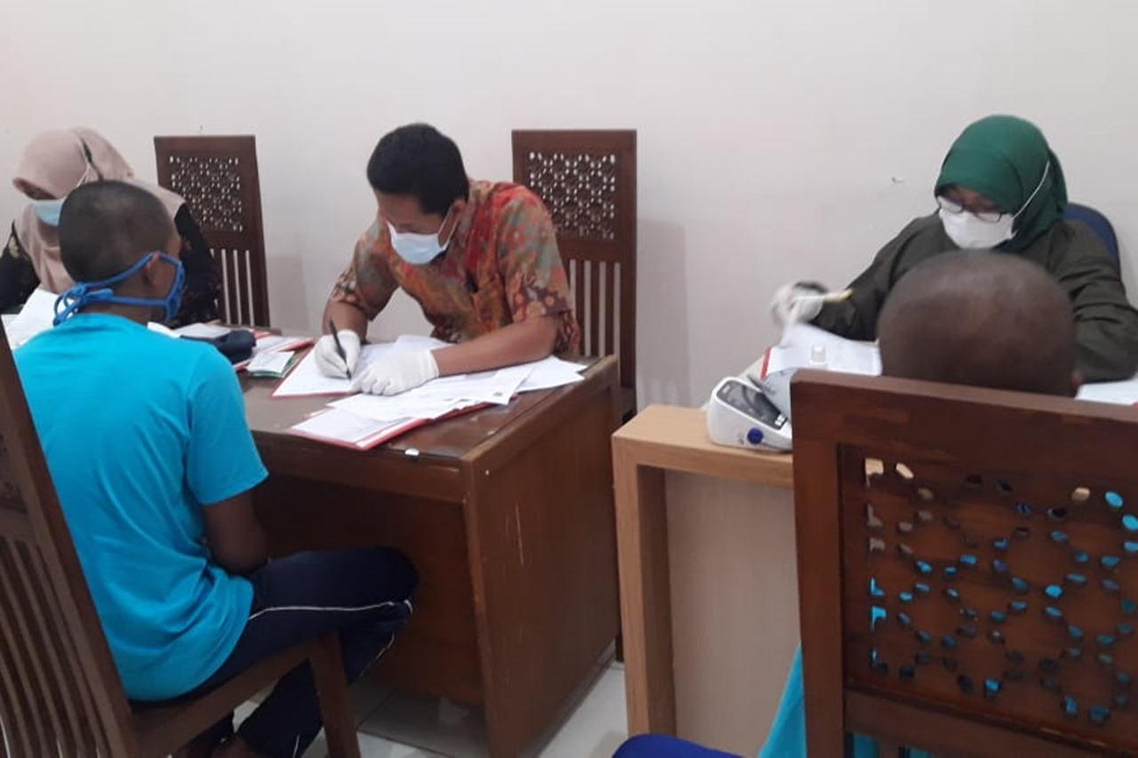 "Ratusan ODGJ Terima Vaksinasi COVID-19 dari Balai Disabilitas ""Phala Martha"""