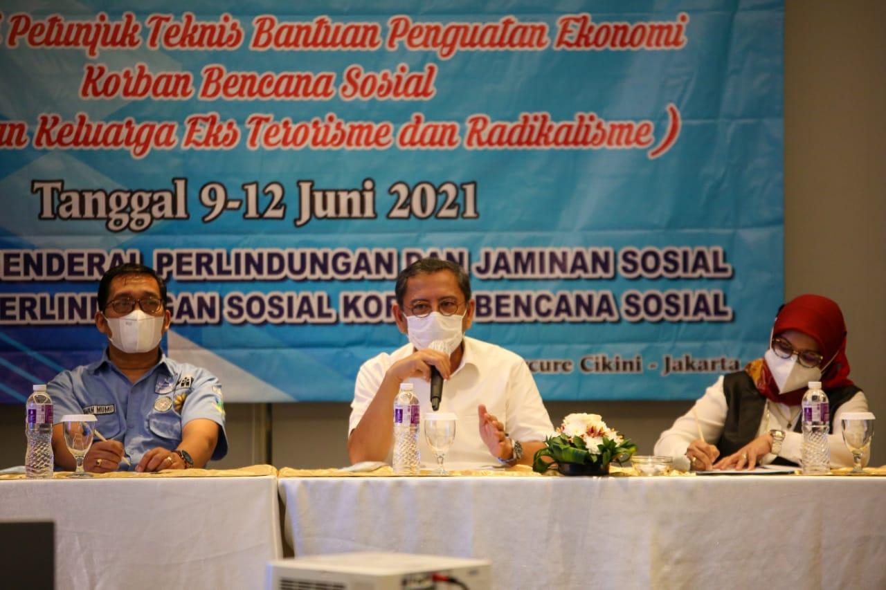 Finalisasi Petunjuk Teknis Bantuan Ekonomi Korban Bencana Sosial dan Bantuan Eks Terorisme-Radikalisme