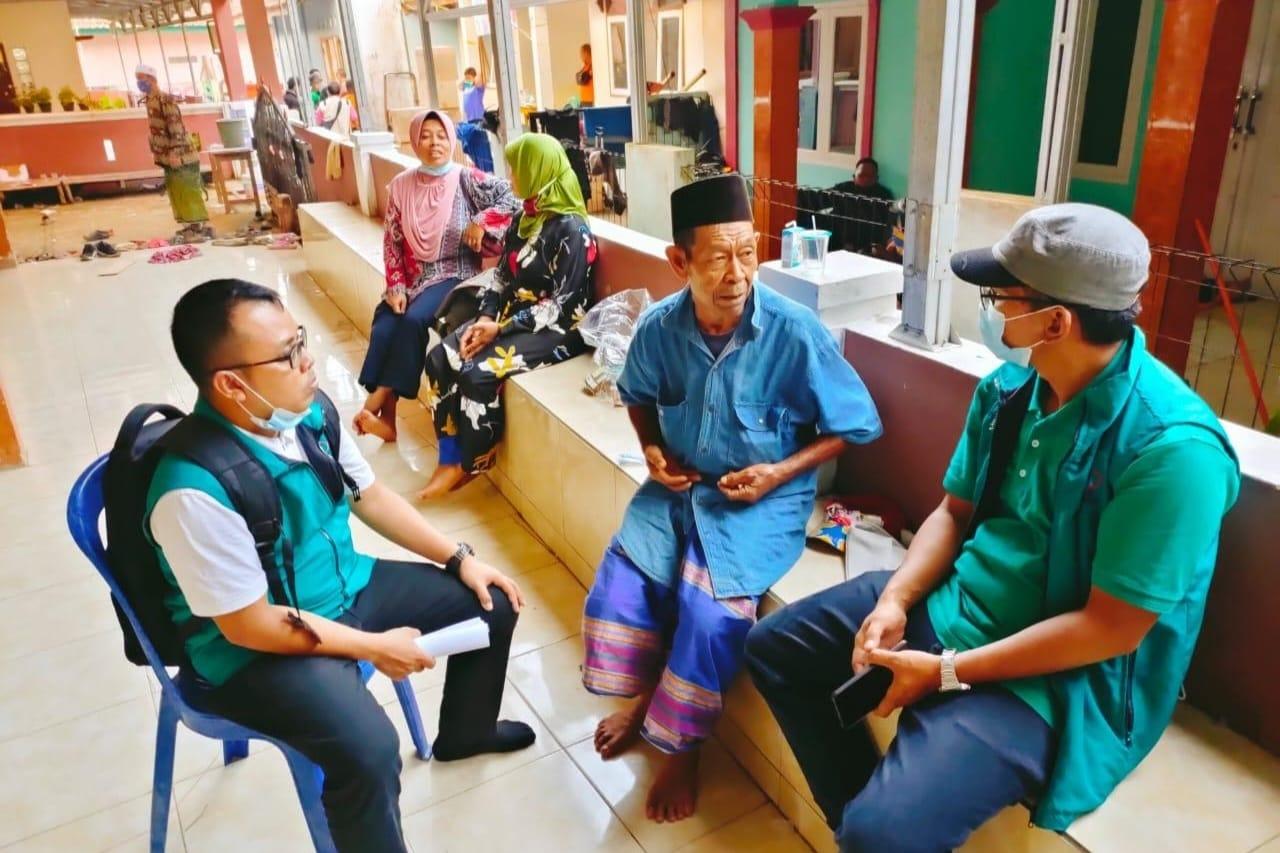 Kirim Tim LDP Dan Bansos, Kemensos Dampingi Korban Bencana Alam di Cibokor