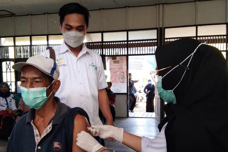 Pendamping PKH Proaktif Bantu Lansia Jalani Vaksinasi Covid-19
