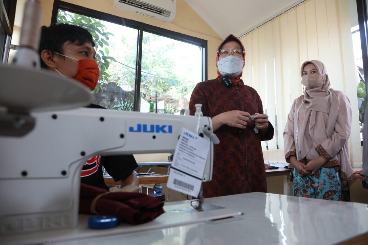 Sentra Kreasi ATENSI Ke-4 Diresmikan di Ciungwanara Bogor, Produk Kemensos akan Go Internasional