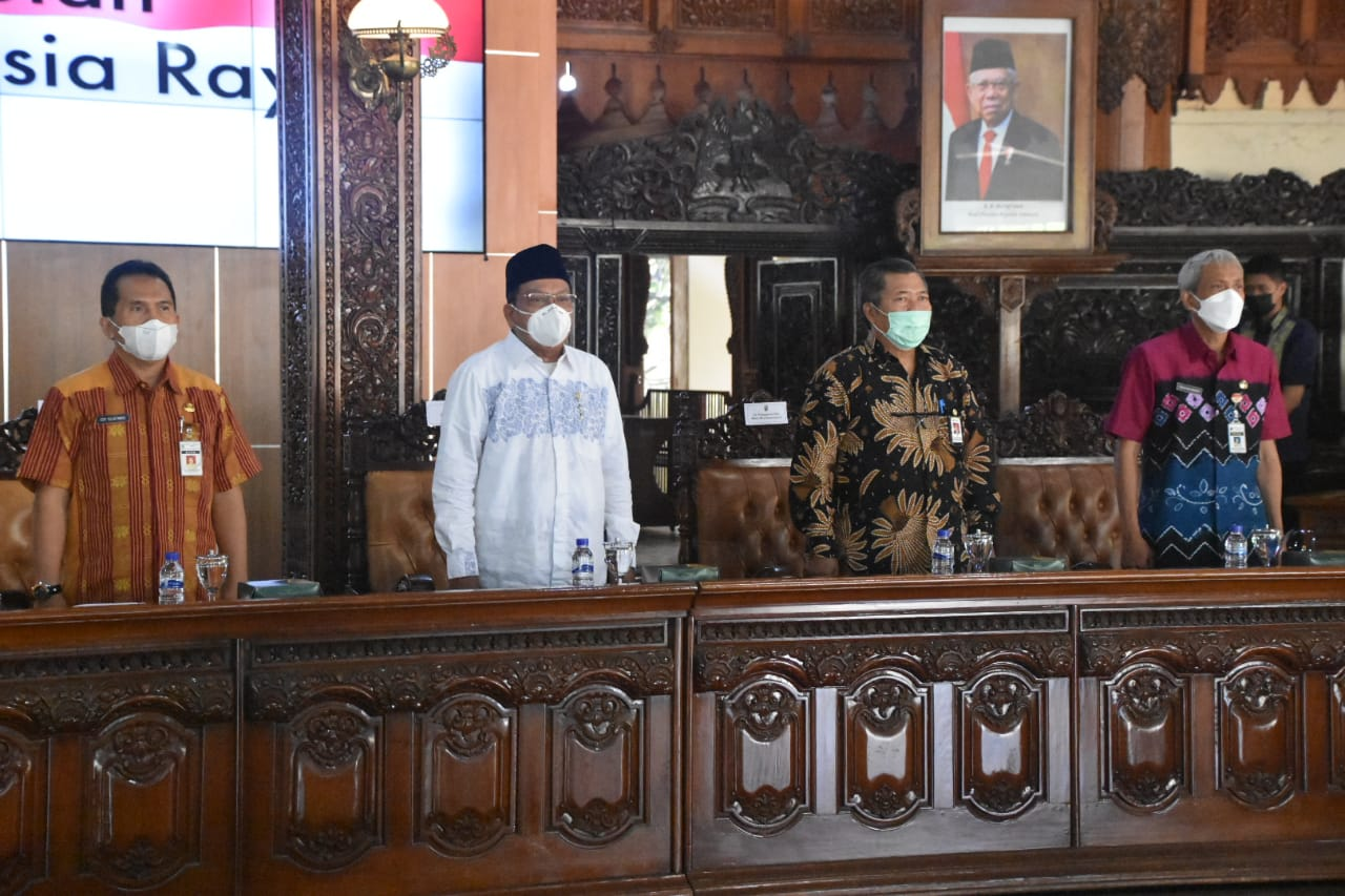Jepara Regency Government and the Directorate General of PFM Welcome the Member of Commission VIII DPR RI
