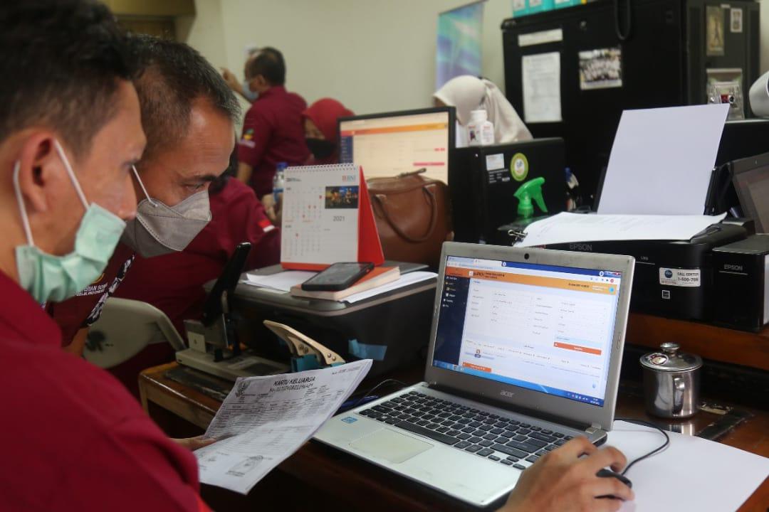 SDM PKH Jakarta Pusat Lakukan Perbaikan Data Ganda Pada Aplikasi e-PKH