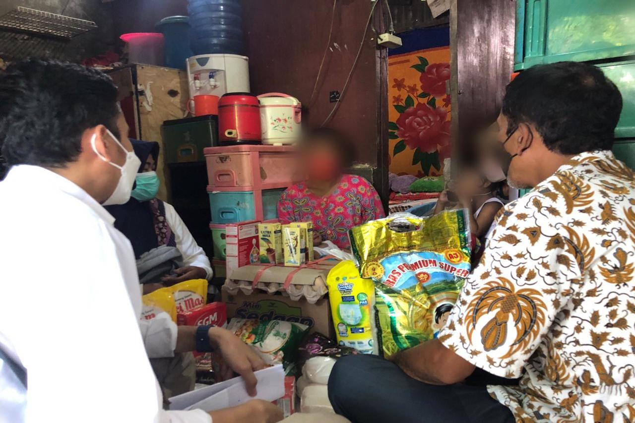 Kemensos Berikan ATENSI kepada Pemulung yang Mengidap HIV di Kabupaten Gowa