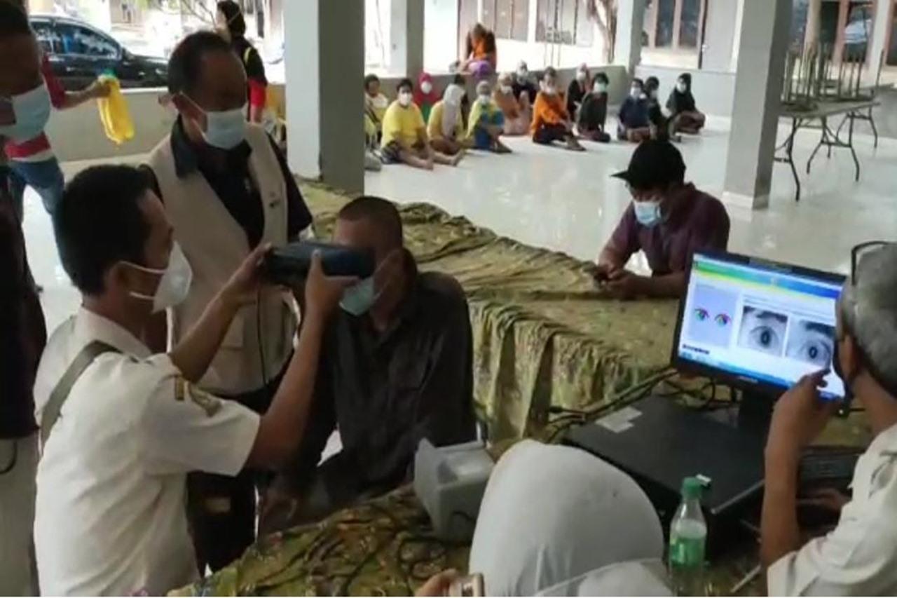 Kemensos Lakukan Kolaborasi Fasilitasi Pengecekan Biometrik bagi ODGJ LKS Galuh Sepanjangjaya
