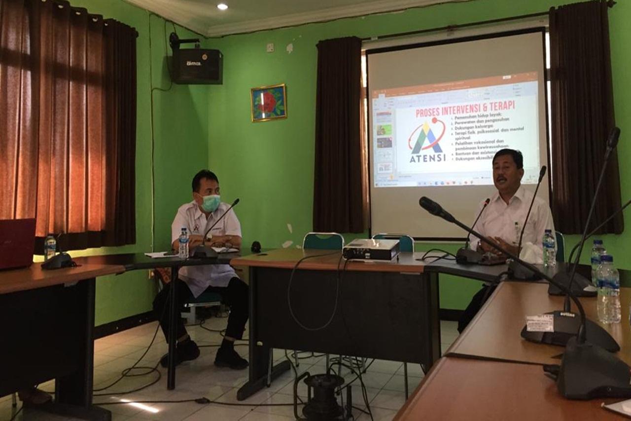 """Sinergitas Kegiatan ATENSI Balai Residen """"Panasea"""" Jakarta"""