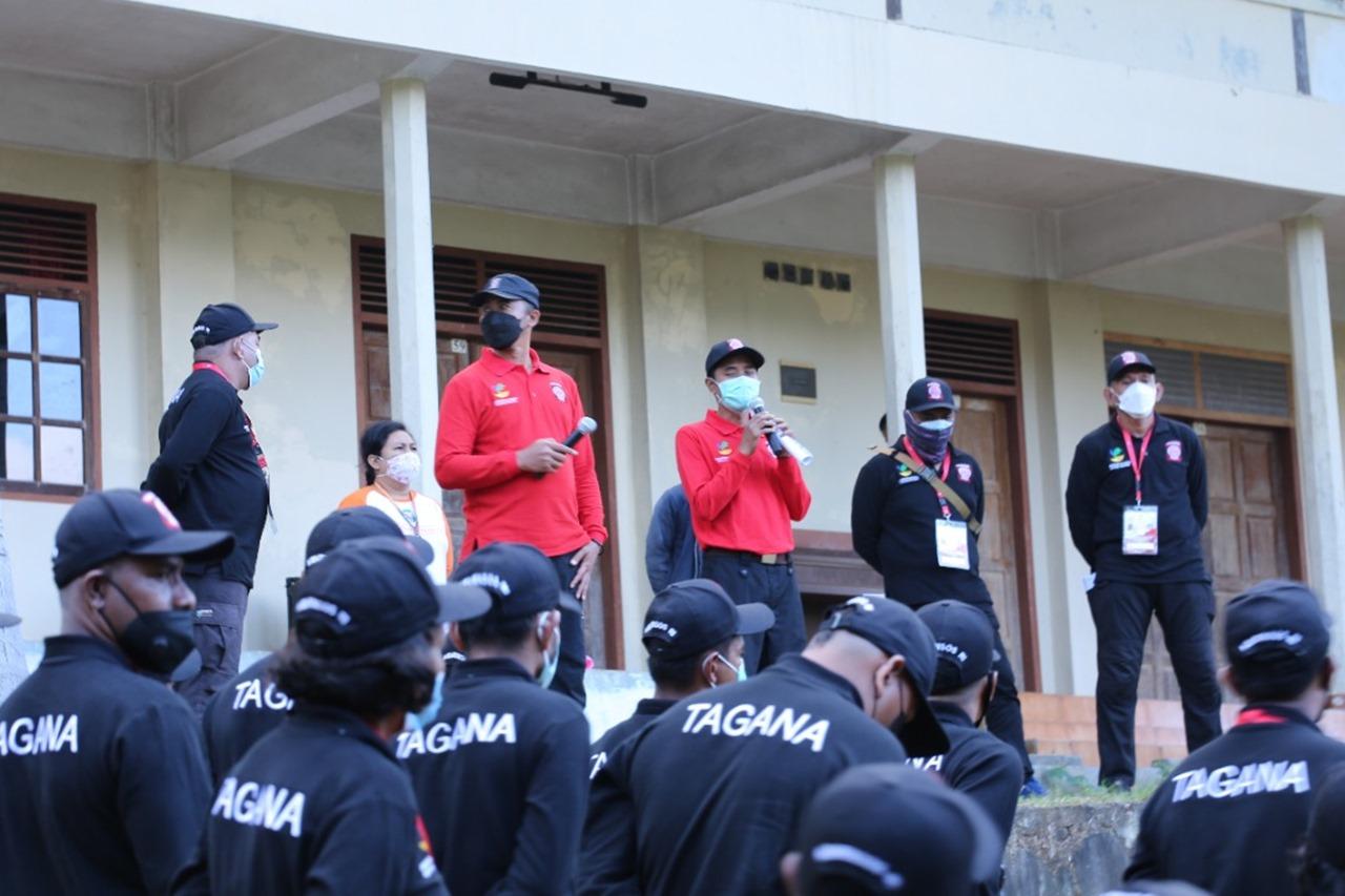 Pendidikan dan Pelatihan Manajemen Keposkoan Tagana NTT di Kabupaten Sikka