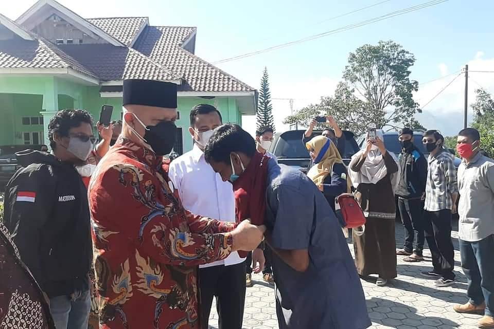 Shabela Regent Supports ATENSI Program in Central Aceh District