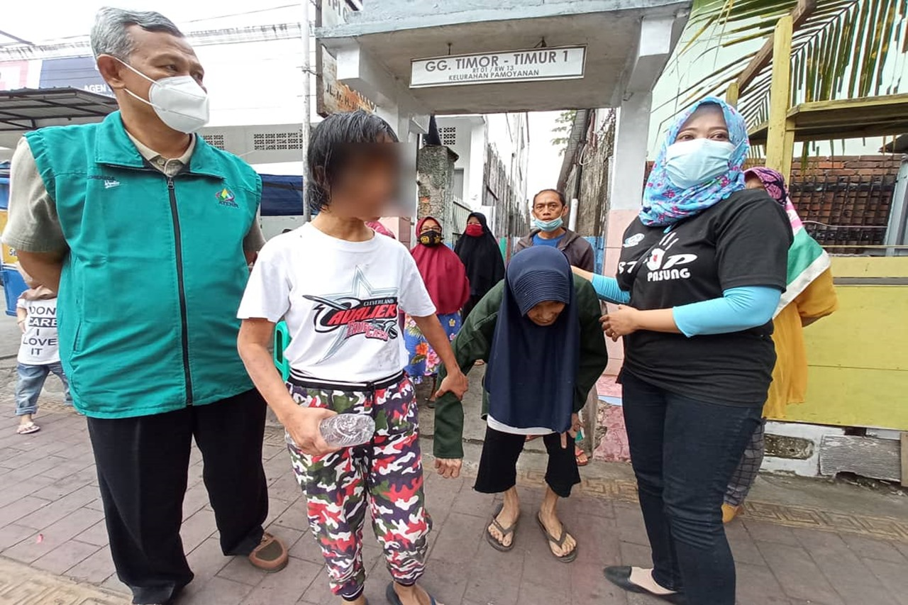 "Kementerian Sosial Evakuasi ""SL"" ODGJ yang Dipasung Selama 20 Tahun"