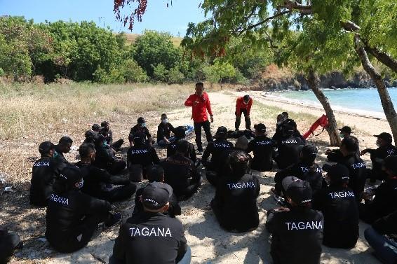 Pelatihan Manajemen Penyelamatan untuk Tagana NTT di Kabupaten Sikka