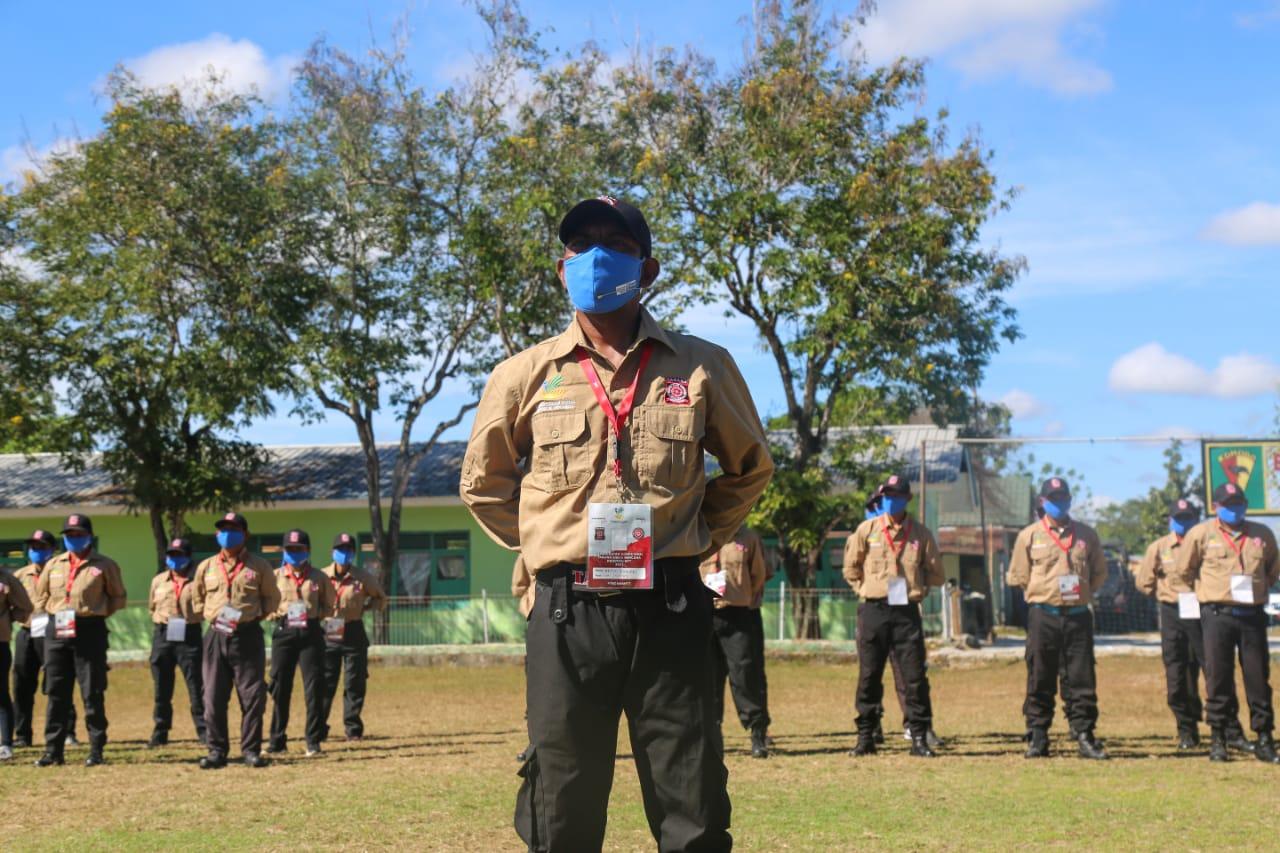 Penutupan Kegiatan Peningkatan Kompetensi Tagana NTT di Naibonat