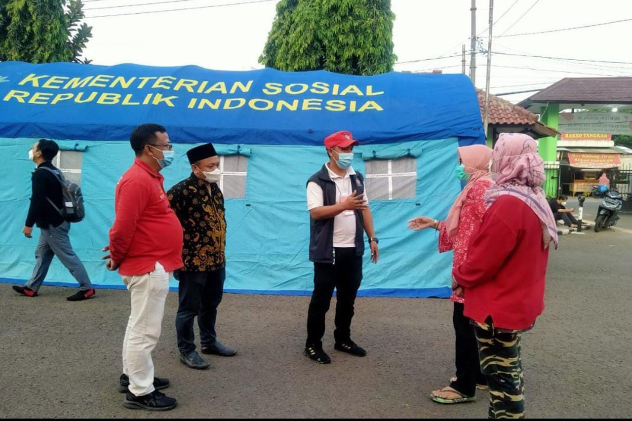 Dukung Penambahan Nutrisi Tenaga Kesehatan di Wilayah Bogor, Balai Ciungwanara Dirikan Dapur Umum