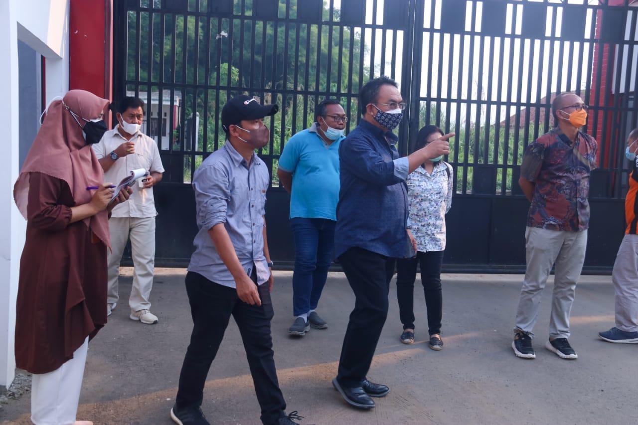 Dirjen Rehsos Pantau Optimalisasi Fasilitas Layanan Vokasional di Balai Galih Pakuan Bogor