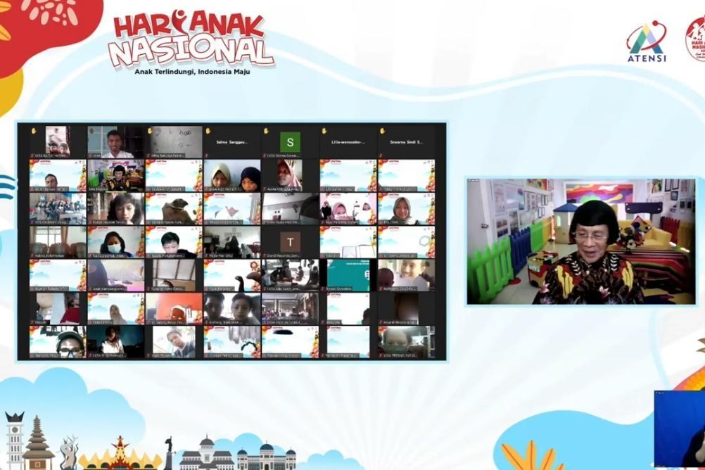 Kemensos Gelar Webinar Hari Anak: Dari Anak, Oleh Anak, Untuk Anak