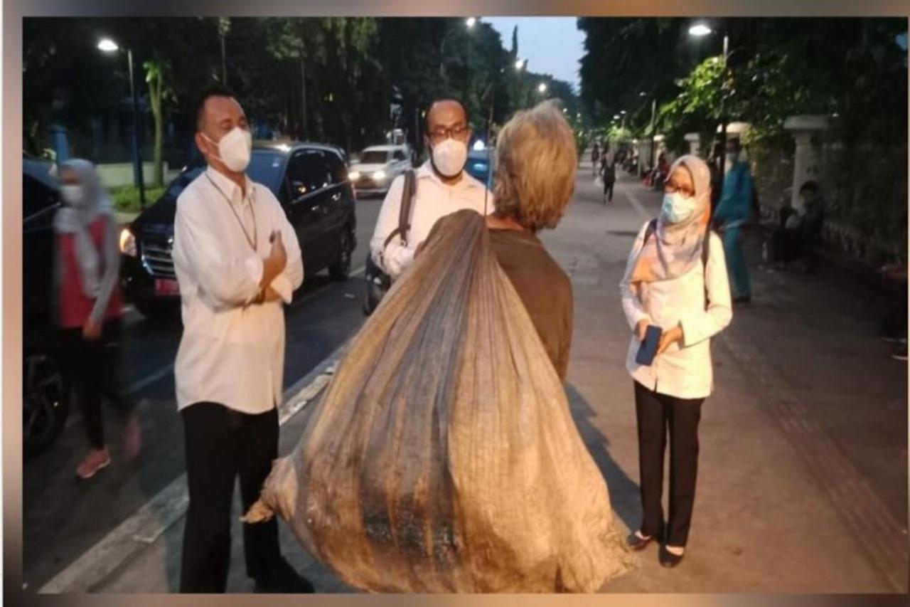 Respon Cepat Balai Panasea Menjangkau Pemulung di Jakarta Pusat