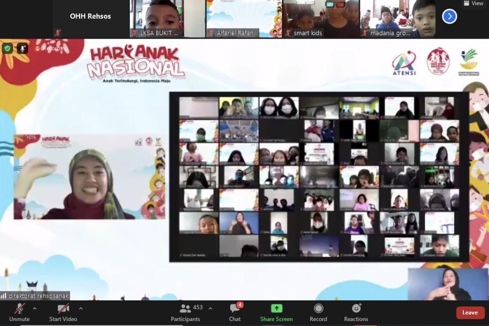 Kemensos Gelar Acara Mendongeng Budayaku, Ajak Anak Belajar Bersama Budaya Indonesia