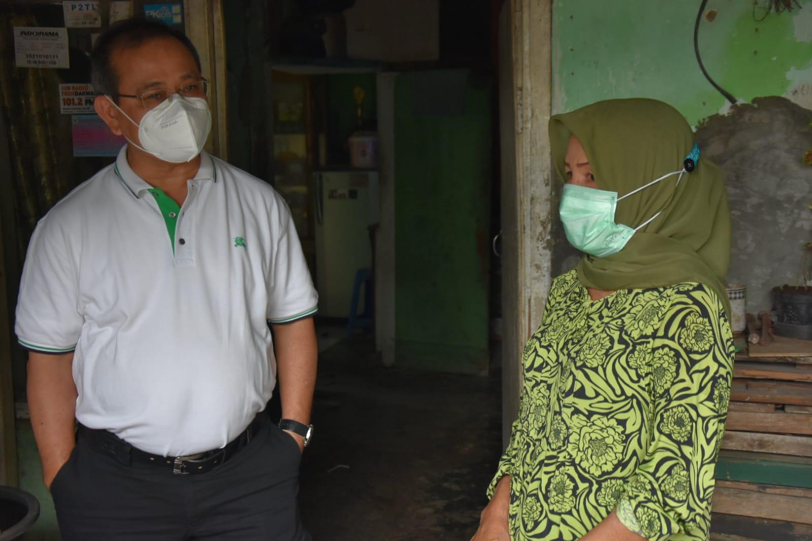 Dirjen PFM Pantau e-Warong di Kabupaten Purwakarta