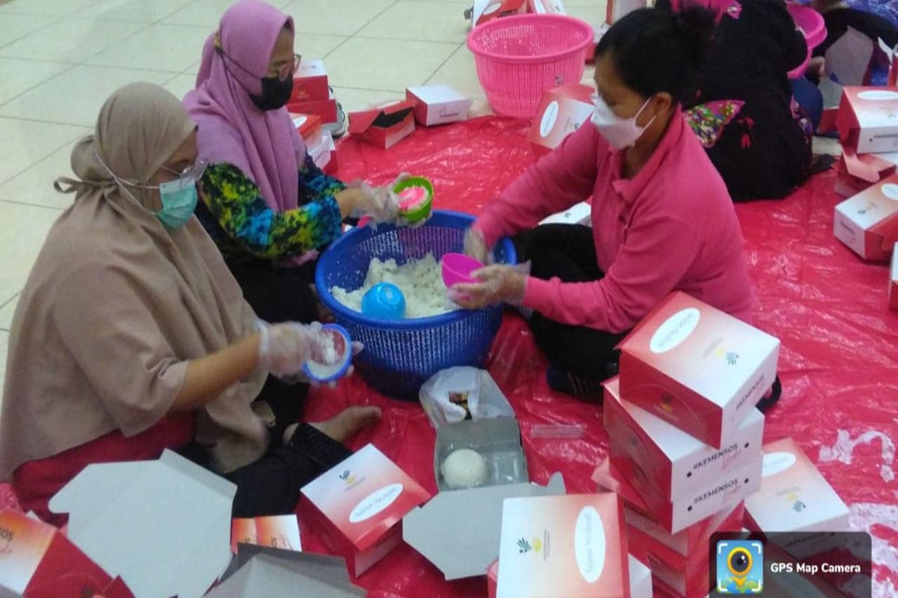 Support PPKM, MoSA Distributes Thousands of Ready-to-eat Foods