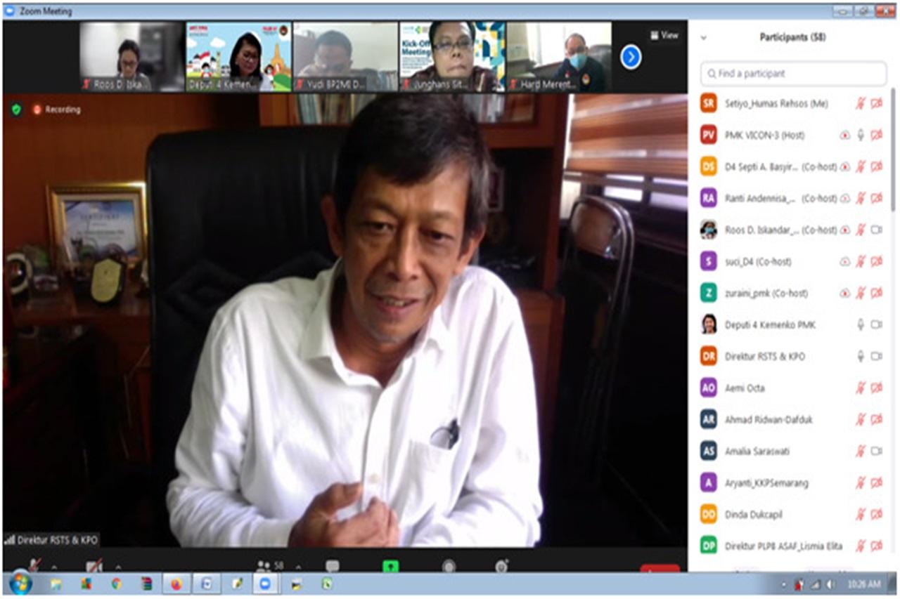 Rapat Koordinasi Pemberian Layanan Vaksinasi bagi PMIB Deportan dari Malaysia