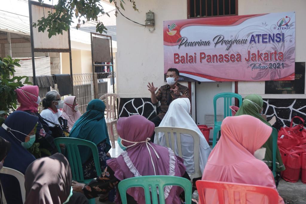 Dukungan Nutrisi Bagi Kelompok Lansia Kenanga di Bekasi