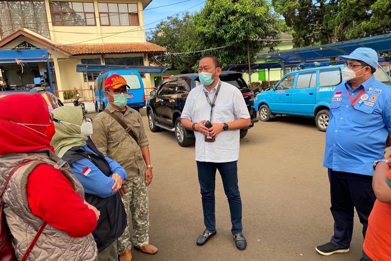 """Kemensos Dirikan Dapur Umum di BRSPDSN """"Wyata Guna"""" Bandung"""