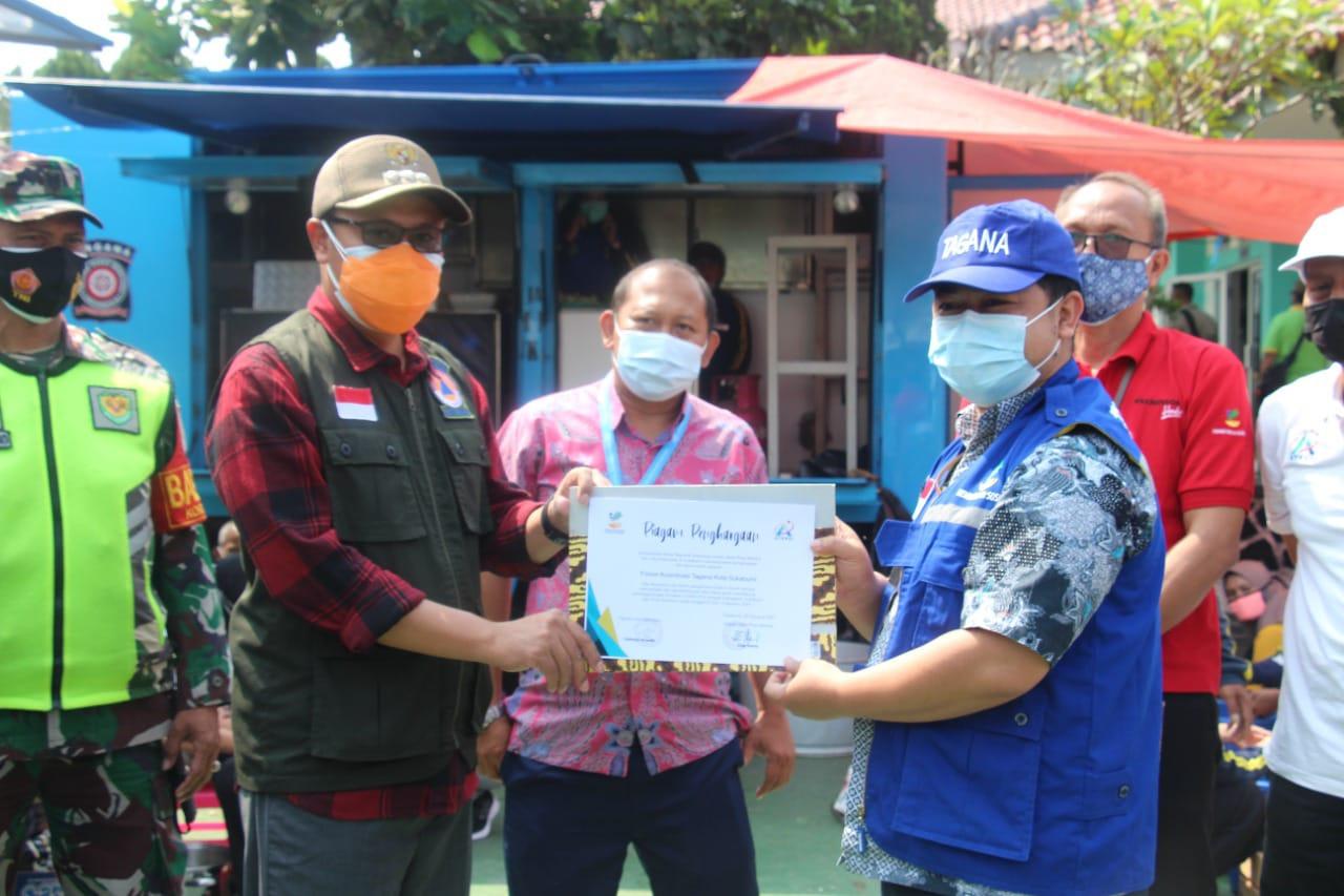 Mayor of Sukabumi Appreciates Ministry of Social Affairs' Public Kitchen Service