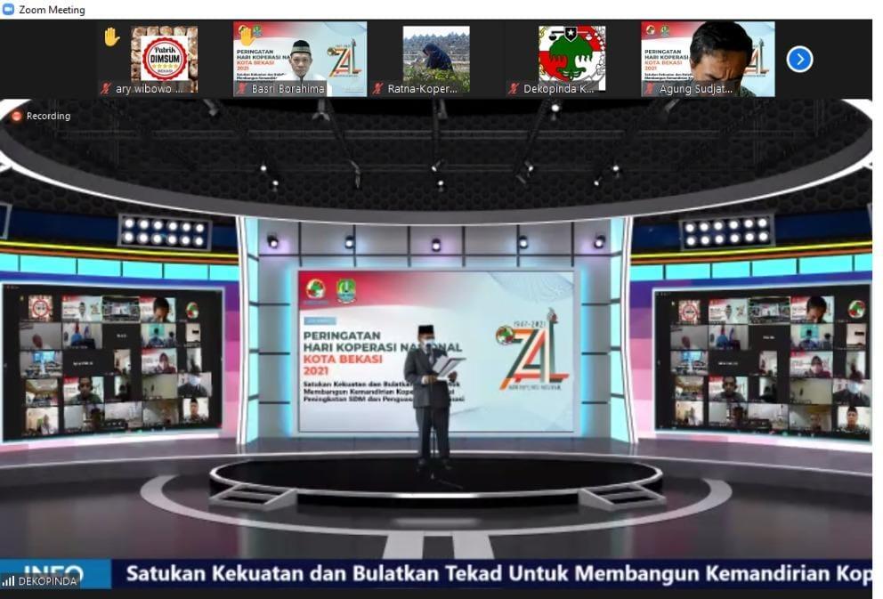 """Koperasi """"Sejahtera"""" Balai Tan Miyat Kemensos, Raih Penghargaan Koperasi Berprestasi"""