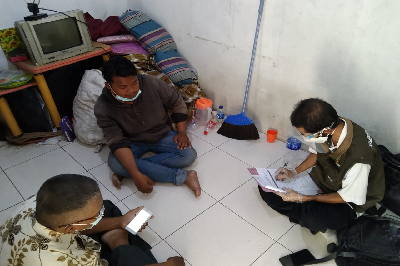 Kemensos Lakukan Pendampingan Bagi Penyandang Disabilitas Wicara Terdampak Pandemi Covid-19