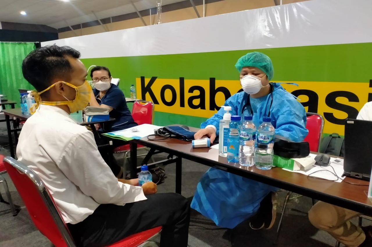 Sukseskan Program Vaksinasi Nasional, Penerima Manfaat Balai Melati Ikut Divaksinasi