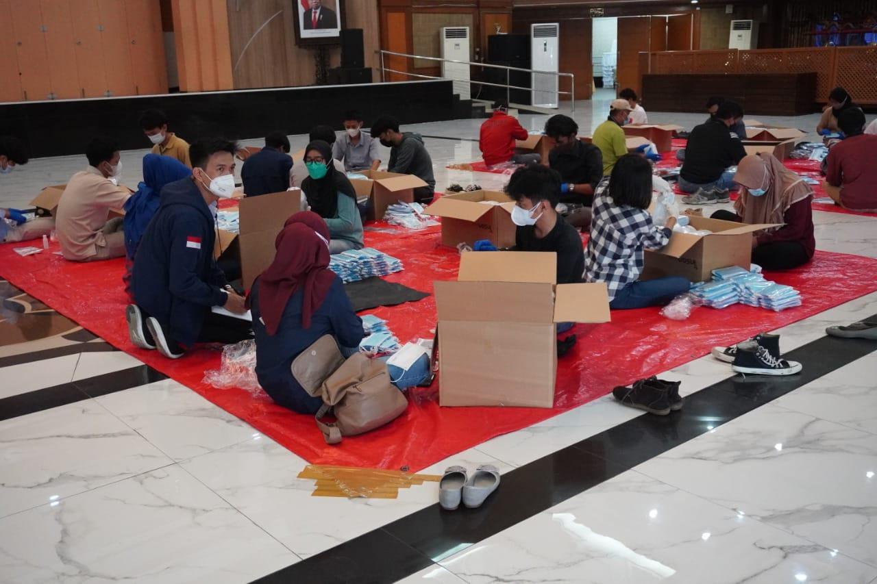Lewat Karang Taruna, Kemensos Salurkan Paket Masker dan Vitamin ke 514 Daerah