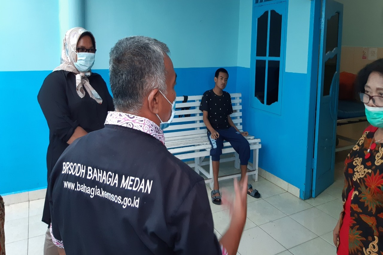 Balai Karya Bahagia Medan Respon  Kasus Anak Disabilitas Intelektual yang Kini Yatim Piatu ⠀