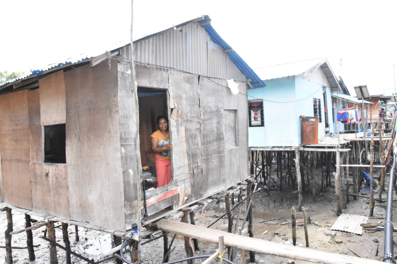 Atasi Rumah Tidak Layak Huni di Kota Batam, Ditjen PFM Tinjau Lokasi di Suku Laut Pulau Bertam