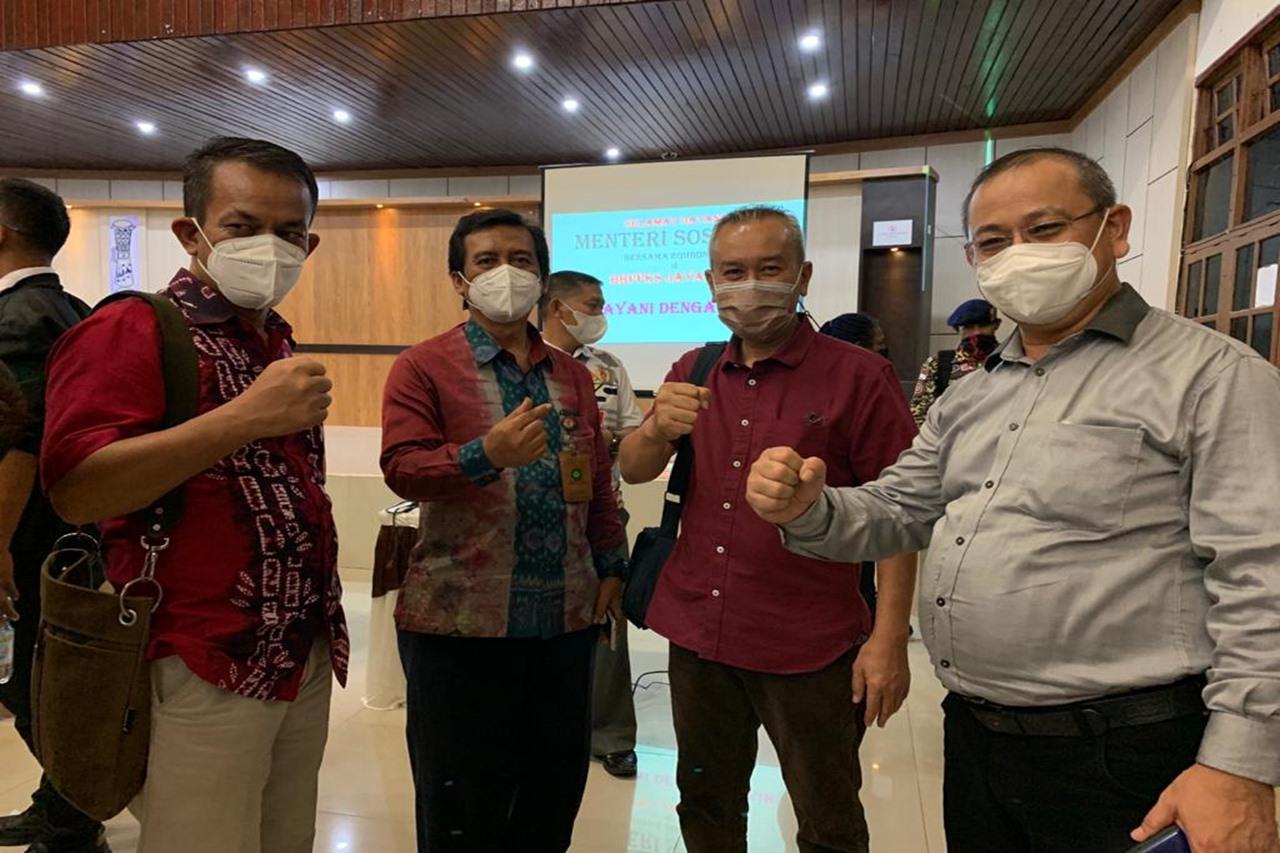 Kunjungi Jayapura, Dirjen PFM Koordinasikan Pelaksanaan Program Sembako dengan Dinas Sosial Kabupaten/Kota Jayapura
