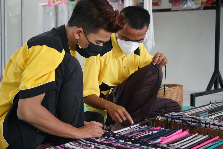 Ditjen PFM Studi Banding ke Sentra Kreasi ATENSI Pangudi Luhur dan Ciungwanara