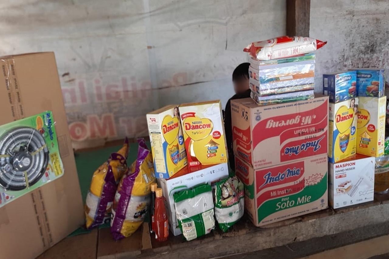 Kemensos Beri Bantuan ATENSI Keluarga Yatim di Luwu Utara