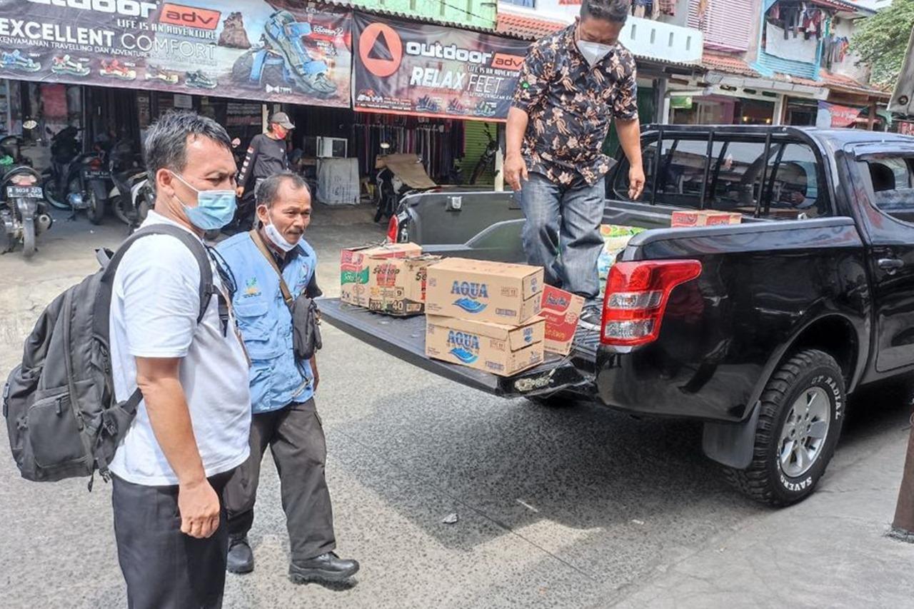 Kemensos Hadir dan Berikan LDP bagi Korban Insiden Mall Margo City Depok