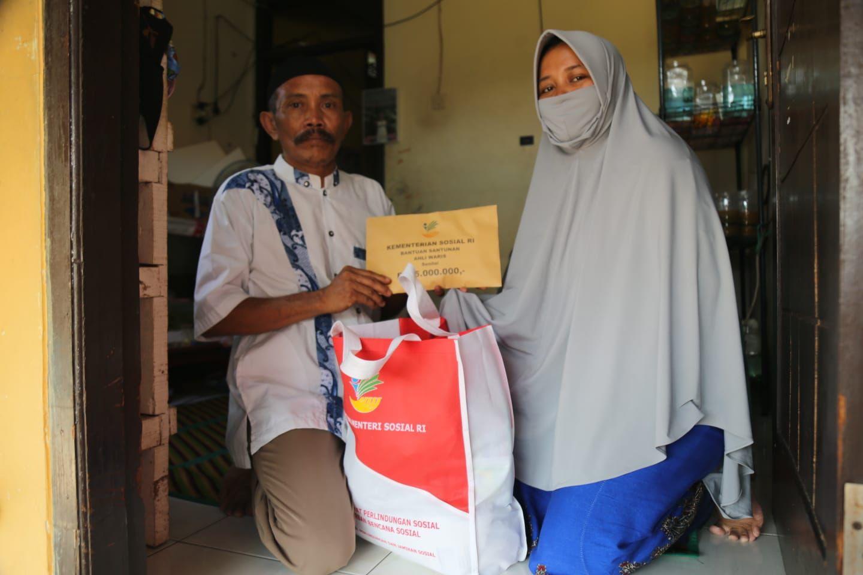 Kemensos Berikan Bantuan Santunan Korban Meninggal Insiden Margocity Rp15 Juta
