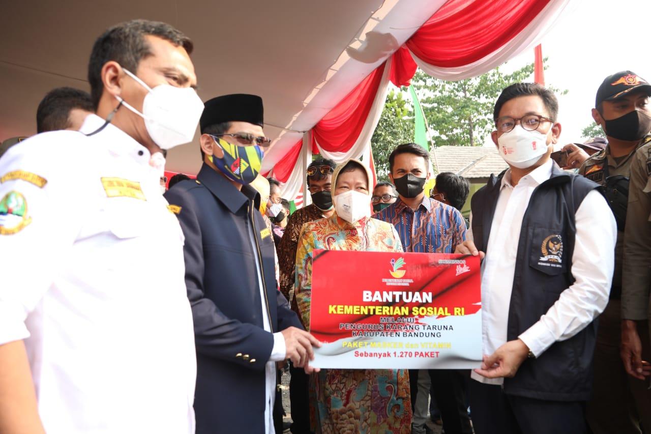 Kemensos Salurkan Aneka Bantuan bagi KPM dan PM di Kabupaten Bandung