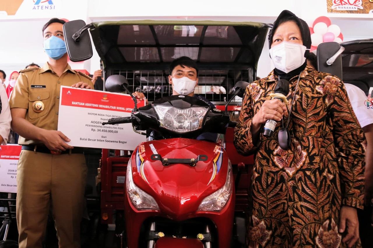 Kemensos Resmikan Sentra Kreasi ATENSI eRCe Surakarta