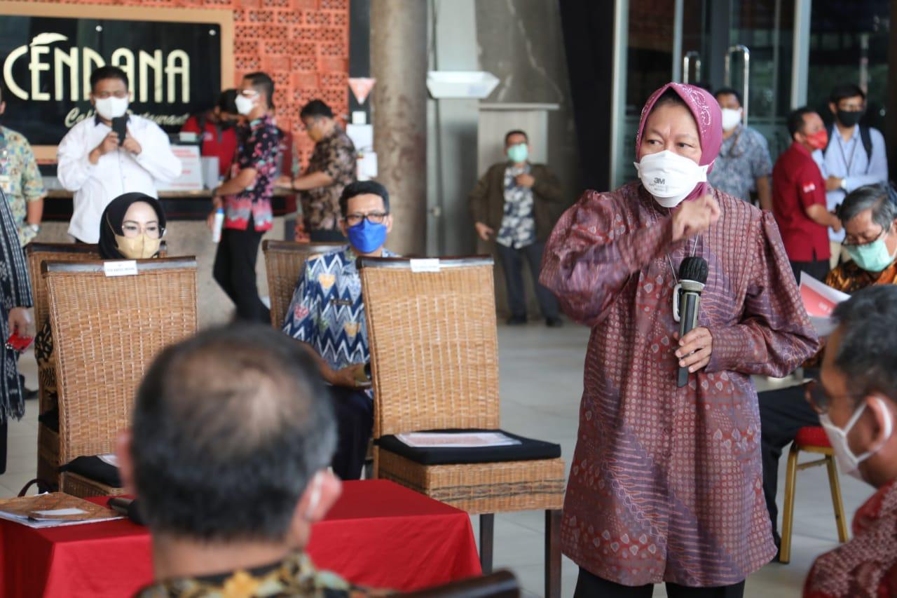 Kemensos dan Komisi VIII DPR RI Gelar Rapat Koordinasi Pemadanan Data Penerima PKH dan BPNT di Semarang