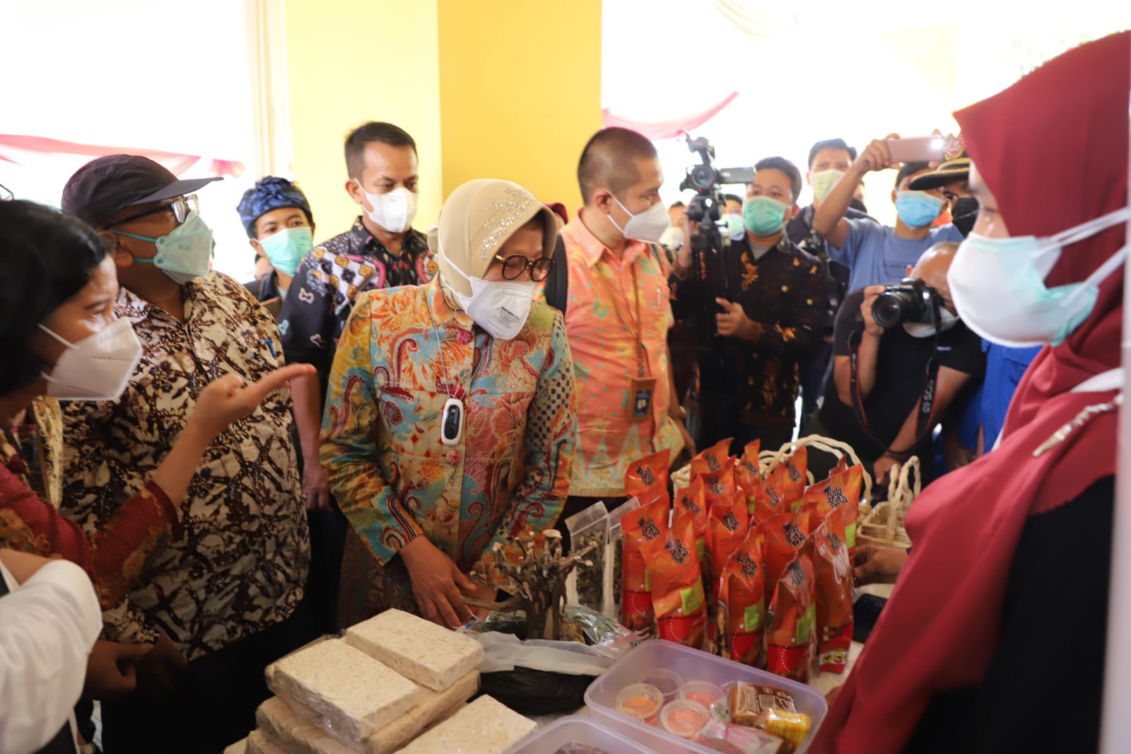 Kunker Mensos bersama Komisi VIII DPR RI di Kab Bandung