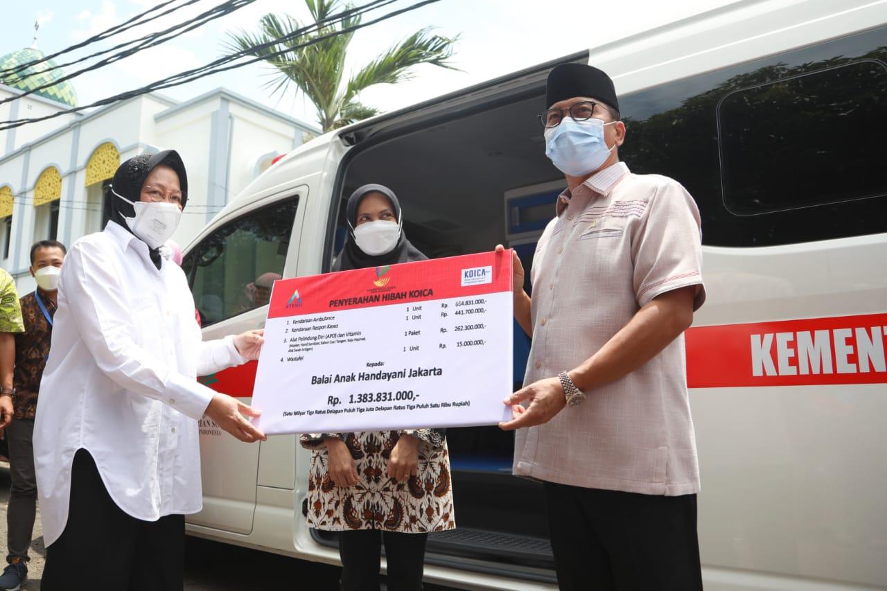 "Peresmian SKA Balai ""Mulya Jaya"" Jakarta"