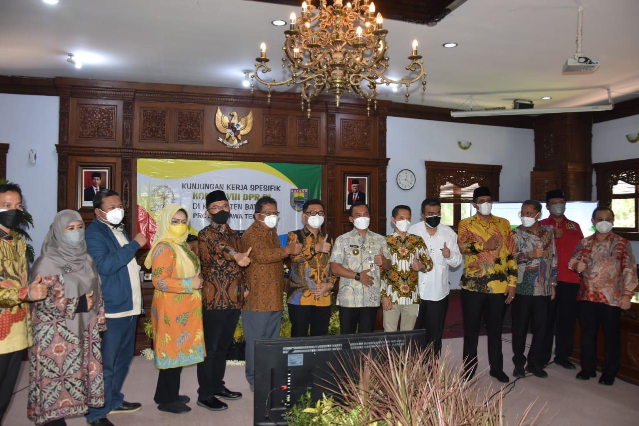 Bupati Batang Sambut Baik Kunjungan Kerja Kementerian Sosial dan Komisi VIII DPR RI Dalam Rangka Pengawasan Penyaluran Bantuan Sosial