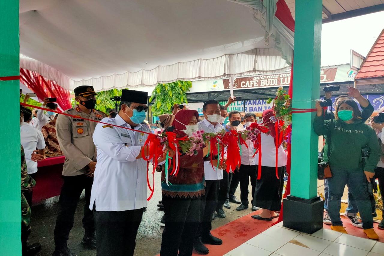 Mensos Terus Berikan Penguatan dan Motivasi Kepada YAPI di Kota Banjarbaru