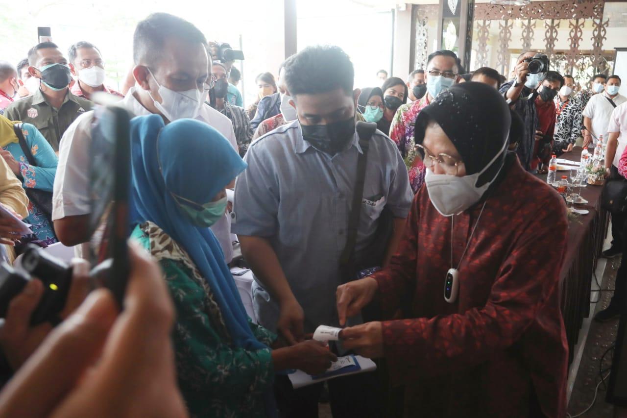 Mensos Dorong Bank Himbara Kalteng Tuntaskan Penyaluran Bansos Sebelum Pekan Ketiga September